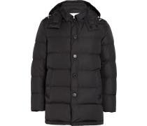 Black Nylon Down Jacket GD-001