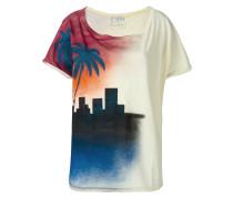 T-Shirt mit Print vorne