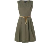 Kurzes Popeline-Kleid