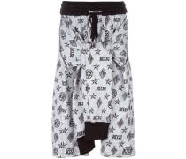 Shorts mit Monogramm-Muster