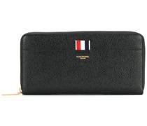 Portemonnaie mit Streifen-Detail