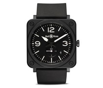 BR S Black Matte Ceramic 39mm