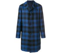 tailored plaid coat