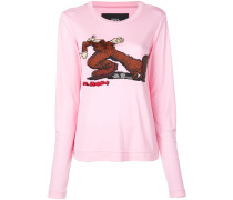 Pullover mit Stomp-Print