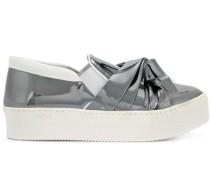 Sneakers mit Faltdetail