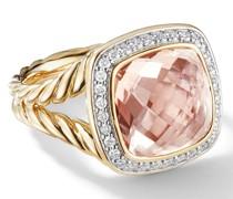 18kt 'Albion' Gelbgoldring mit Diamanten