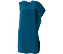 Asymmetrisches Kleid mit Volant