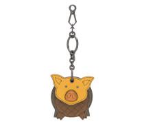 Schlüsselanhänger mit Schwein