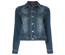 Jeansjacke in Stonewash-Optik