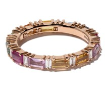 18kt 'Rainbow Eternity' Rotgoldring