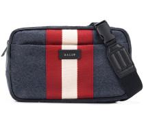 contrast stripe waist bag