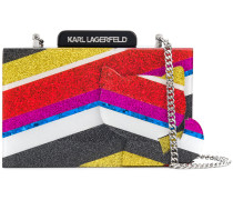 'K/Stripes Choupette' Clutch