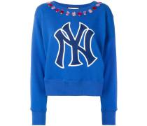 NY embellished sweater