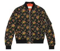 Jacke mit Blütenmuster