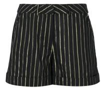 Kurze Shorts mit Streifen