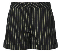 striped short shorts