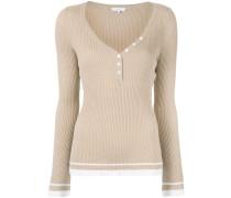 Pullover mit geknöpftem Ausschnitt