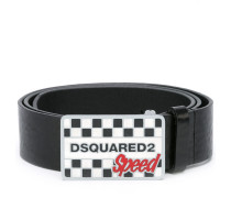 'Speed' Gürtel mit Logo-Schnalle