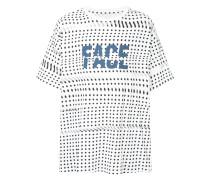 T-Shirt mit Polka-Dots