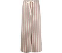 Gestreifte Pyjama-Hose
