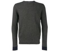 Pullover mit Kontrastbündchen