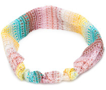 lamé knitted headband