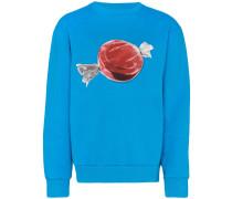 Sweatshirt mit Süßigkeiten-Print