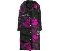 Gefütterter Mantel im Oversized-Look