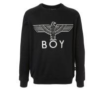 Sweatshirt mit Adlerapplikation