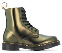 Stiefeletten im Metallic-Look