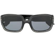 Abstrakt gemusterte Sonnenbrille