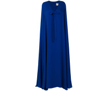 cape long dress