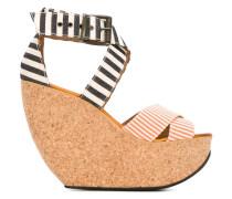 'Wati' Sandalen mit Keilabsatz