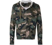 Kapuzenpullover mit Camouflage-Muster