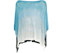 loose weave knit poncho
