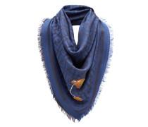 FF logo print scarf
