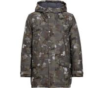 Gefütterter 'Camouflage eVent GDH-002' Mantel