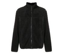 furry zip jacket