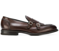 slip-on buckled loafers