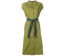 tie waist mid-length dress