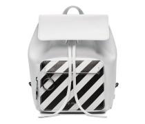 Rucksack mit diagonalen Streifen