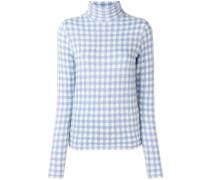 Pullover mit Vichy-Karos