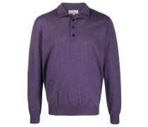 Pullover mit geknöpftem Kragen