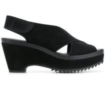 sling-back open-toe sandals