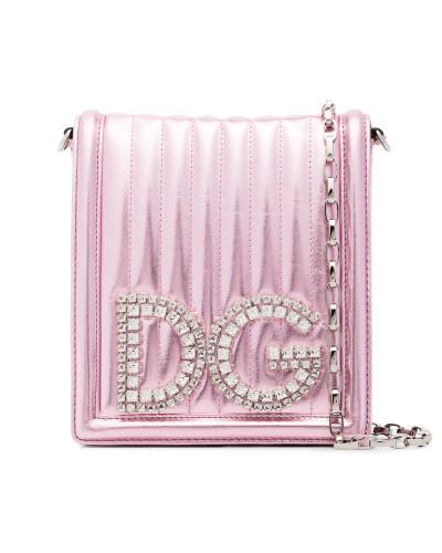 Dolce & Gabbana Damen Mini Umhängetasche in Metallic-Optik Mit Kreditkarte Günstigem Preis Auf Der Suche Nach Verkauf Empfehlen Beste Authentisch 2018 Online r7Gjqj
