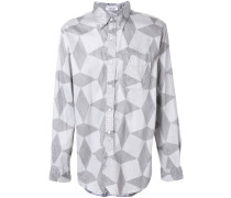 abstract pattern shirt