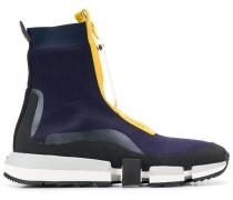 Sock-Sneakers mit Reißverschluss
