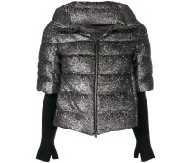 short-sleeved quilted gilet