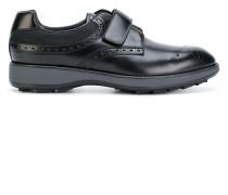 Derby-Schuhe mit Klettverschluss