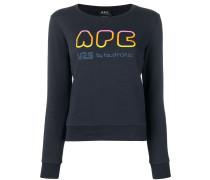 A.P.C. Pullover mit Logo-Print